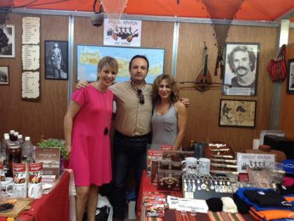Χαμόγελα, όραμα και ελπίδα στο περίπτερο της Ένωσης Κρητών Νέας Σμύρνης